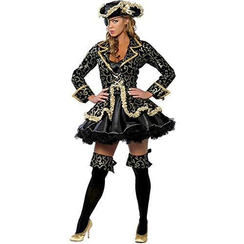 WWAVE Ladies Sexy Caribbean Pirate Kostüme Halloween Kostüme Spiel Uniformen Cosplay