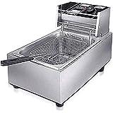 Kobbey Electric Deep Fryer Machine 6 Ltr Copper Heater with 5 Year Warranty