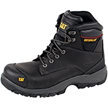CAT Workwear Mens SPIRO Water Resistant Leather S3 Steel Safety Boots