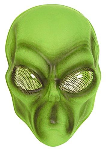 Alien-Maske aus Plastik ()