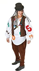 Boy George Culture Club Fancy Dress Outfit FREE Make-up