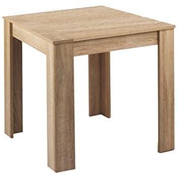 CAVADORE Tisch NICK/kleiner, praktischer Küchentisch 80 x 80 cm aus ...