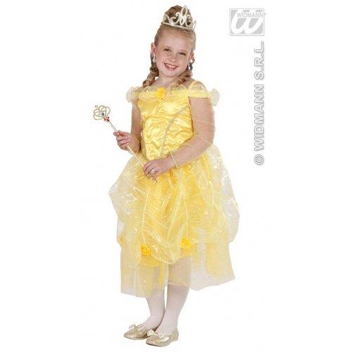 Kostüm Sonne Kinder - Widmann wdm68898-Kostüm für Kinder Prinzessin der Sonne (158cm/11-13Jahre), gelb, S