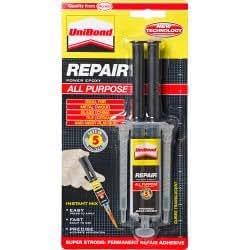 UniBond Repair All Purpose Power Epoxy Instant Mix Syringe 14ml - 5 Minute