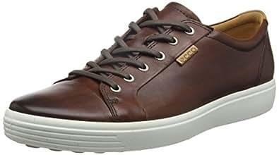 Ecco Men's Soft 7 Low-Top Sneakers, Brown (1283whisky), 6 UK
