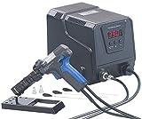AGT Entlötpumpe: Digitale Profi-Entlötstation mit Vakuum-Pumpe, 160-480 °C, 200 Watt (Entlötkolben)