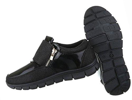 Damen Schuhe Freizeitschuhe Moderne Schwarz Schwarz