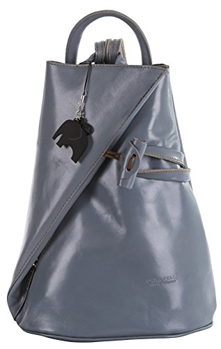 Big Handbag Shop, Borsa a spalla donna Light Grey Plain