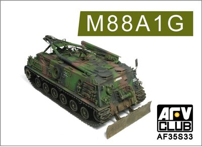 AFV Club AF35S33 M88A1G Recovery Tank Germany