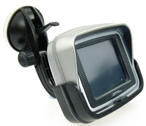 Ultimate Addons starr Windschutzscheibe Saugfuß Halterung für TomTom Rider 2 Motorrad GPS Navi (SKU 10230) Gps-sitzsack-halterung Für Auto