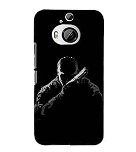 EPICCASE Call of duties Mobile Back Case Cover For HTC One M9 Plus (Designer Case)