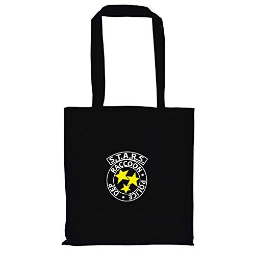 TEXLAB - RE: S.T.A.R.S. Logo - Stoffbeutel, -
