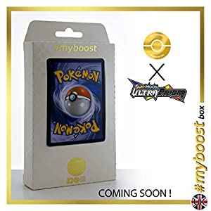 Magnezone 83/156 Holo Reverse - #myboost X Sun & Moon 5 Ultra Prism - Box de 10 cartas Pokémon Inglesas
