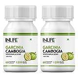 Inlife Garcinia Cambogia Slim Weight Loss Fat Burner Supplement (60% HCA) 1200 mg