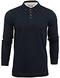Tokyo Laundry - T-shirt style polo pour homme - manches longues