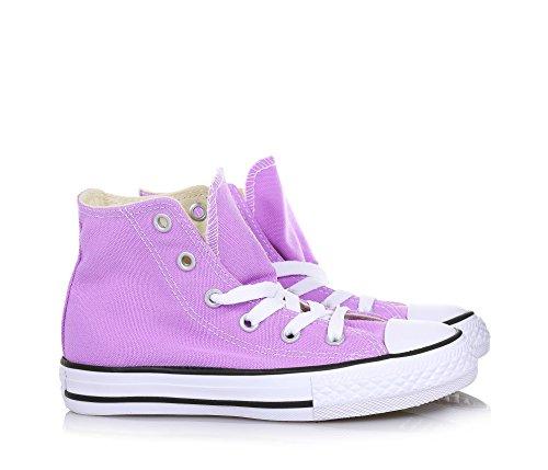 Converse Ctas Hi, Sneakers Mixte Enfant Violet (Fuchsia Glow)
