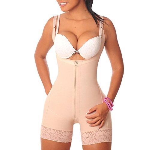 Missmaom donna modellante piacevole modella tuta con gancio donna dimagrante seamless corsetto, intimo modellante da donna