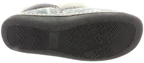 MIK Funshopping , Chaussons Mules femme Grey Multi