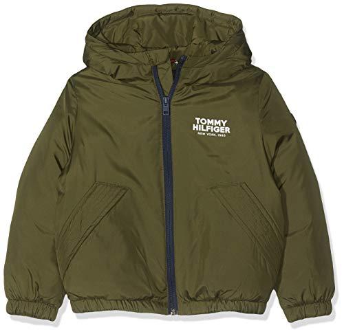 Tommy Hilfiger Dg TJM Jacket Abrigo, Verde Olive Night 399, 116 Talla del fabricante: 6 para Niños...