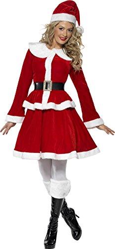 achtsfrau Kostüm, Jacke, Rock, Mütze, Gürtel und Muff, Größe: M, 36989 (Christmas Fancy Dress Ideen Für Damen)