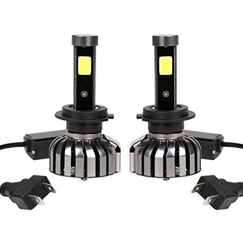 Preisvergleich Produktbild H7 LED AutoLicht Scheinwerferlampe Birnen 36W 4000LM 6500K DC9V-36V lampen led mit Bridgelux COB LED lampen ,Wasserdicht IP65