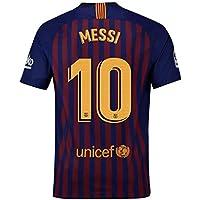 FLAGSPOND FC Barcelona Messi   10 Home stadio di calcio maglia da uomo  stagione 2018 – c9bde2f9c8f5