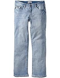 sheego Jeans Caprijeans Damen Stretch Lagenlook Plusgröße