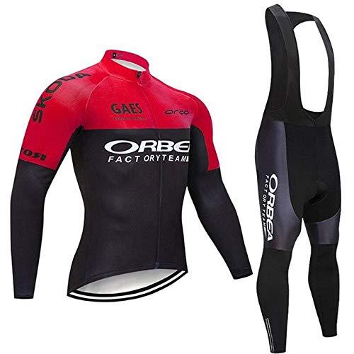 Fastar Ropa Ciclismo Conjuntos de Manga Corta Jersey y Pantalones para Hombre Verano Transpirable Ligero Bicicleta Ropa Ciclismo Trajes Riding Ropa Deportiva B