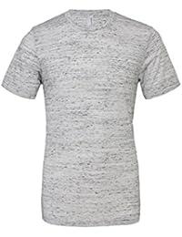 Unisexe poly-coton t-shirt manche courte (BE119) - Marbre Blanc, 34-37 / Small