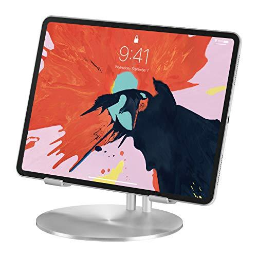 Deluxe-shop Schreibtisch (Just Mobile UpStand Aluminium-Schreibtisch-Stand für iPad)