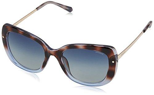 74611081f2 Polaroid Polarized Rectangular Women s Sunglasses - (PLD 4044 S O70 53Z7