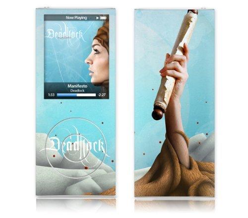MusicSkins Deadlock Manifesto - Cover per Apple iPod nano (quarta generazione)