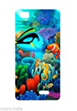 FASHIONURY Printed Soft Back Case Cover For Lava Iris X5 4G-P226