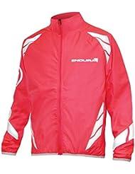 Endura - Luminite Jacket Junior, color rosa,plateado, talla 9-10 Y
