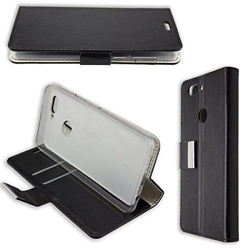 caseroxx Hülle/Tasche Bookstyle-Case Elephone P8 Mini Handy-Tasche, Wallet-Case Klapptasche in schwarz