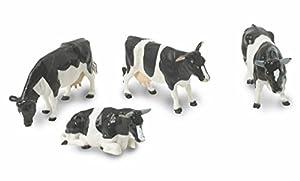 Britains - Bueyes Friesian, Set de Figuras, Color Blanco y Negro (Tomy 40961)