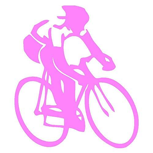 AYUOP Auto Aufkleber Auto Aufkleber Radfahren Aufkleber Rennrad Schwimmen Laufen Ironman Triathlon Autofenster Oder Stoßstange Schwarz/Splitter 13