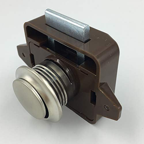 Druckknopfverschluss Knopf Schnappverschluss Griff Knopf Verriegelung Zinklegierung für Tür Schrank Schubladen Wohnmobil Möbel Wohnwagen -