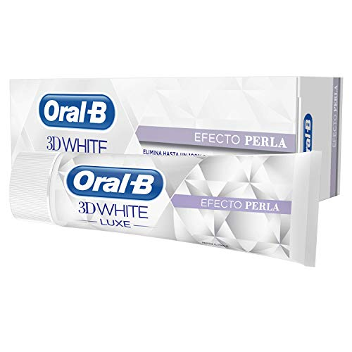 Oral-B 3D Pasta Dentífrica White Luxecon Efecto Perla - 75 ml