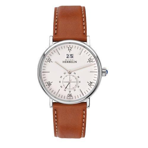 Men's Watch Michel Herbelin - 18247/11GO - INSPIRATION - Date - Leather Band