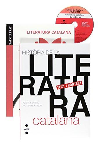 Literatura catalana Batxillerat. Història de la literatura+Teoria literària+Guies de lectura selectivitat - 9788466122818
