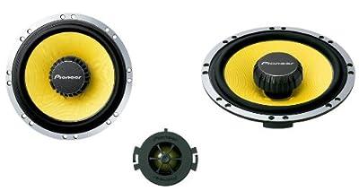 Pioneer TS-Q171C 17cm Component 220W Kevlar Cone Speakers