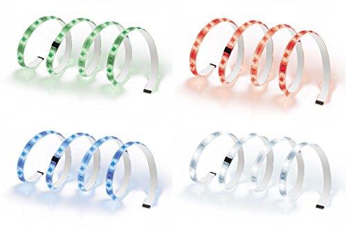 OSRAM flexible LED-Streifen 1 Meter Länge Deco Flex Starter-Set / selbstklebend / dimmbar / für farbige und weiße Lichtakzente / Farbsteuerung RGB - 3
