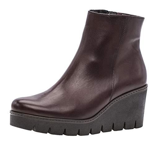 Gabor Utopie Womens Klobige Keil Heel Ankle-Boots 6 UK/39 EU Merlot