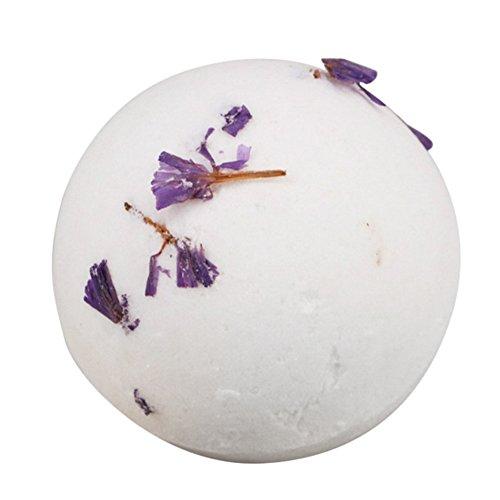 (bulary 60g getrocknet Blume Peeling Badewanne Badewanne Bombe Kugel ätherisches Öl Bain de Salz Blaster)