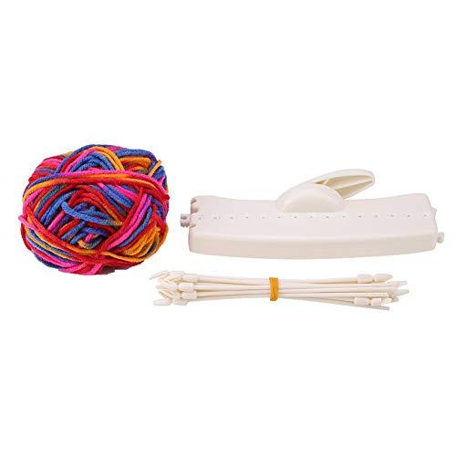 HaiQianXin Bufanda Máquina para Hacer Punto Manual DIY Sombrero Bufandas Weaver Knitter Regalo de los niños