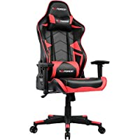 GTFORCE XSTREAM GAMING CHAIR WITH BLUETHOOTH SPEAKERS RECLINING SPORTS RACING OFFICE DESK PC CAR FAUX LEATHER CHAIR