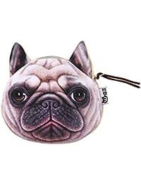 308819644bc29 Chinget Niedlich Hund Form Mit Lanyard Geldbörse Geldtasche Polyester  Geldbeutel Münzen Beutel Portmonee (Shapi Hund