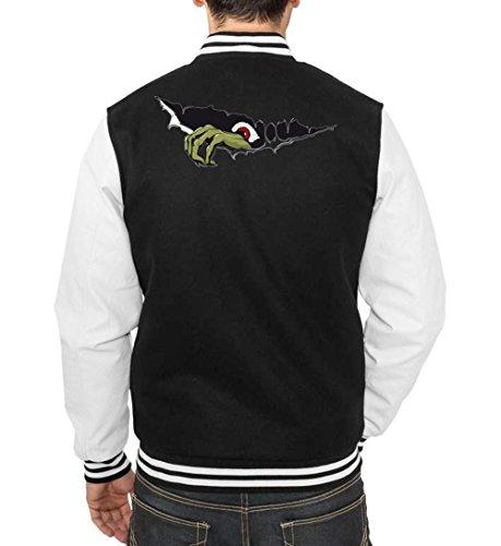 Monster Hand College Vest Black Certified Freak-XXL (College Kostüm Fuck)
