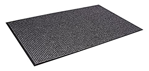 Oxford Wiper Mat, 36 x 60, Black/Gray, Sold as 1 Each